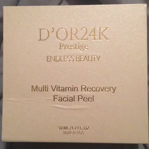 D'or 24k facial peel.